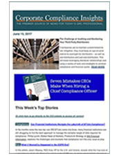 CCI newsletter example